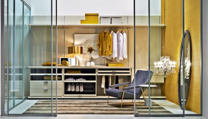 Gliss walk-in Molteni&C