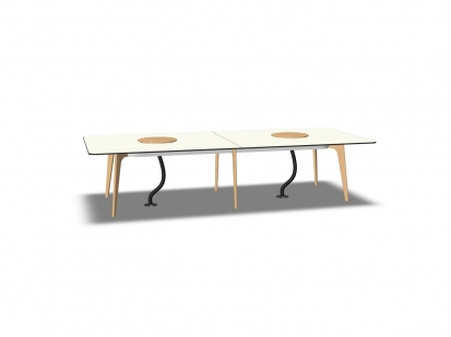 Timba Table 3200x1400 Tray Bene