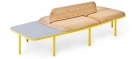 Plyma backed bench